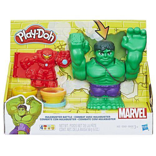 Massinha Play Doh Marvel Hulk Hasbro