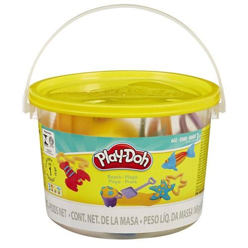 Massinha Play-Doh Mini Balde de Praia HASBRO