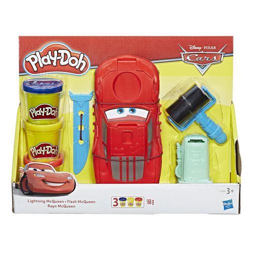 Massinha Play-Doh - Playset Carros Relâmpago McQueen - Hasbro