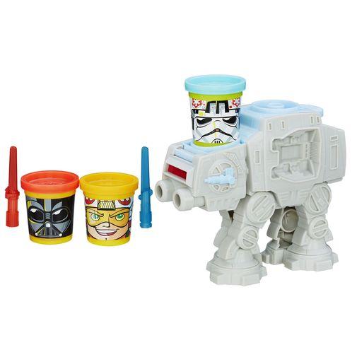Massinha Play-Doh Star Wars - Kit Ataque Atat - Hasbro