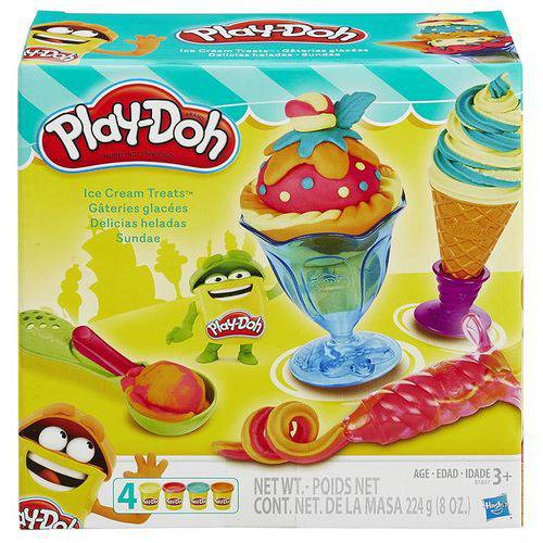 Massinha Play Doh Sundae Hasbro