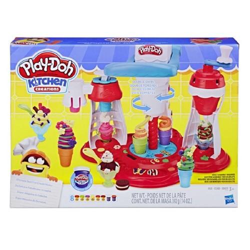 Massinha Play-Doh - Supermáquina de Sorvetes - HASBRO
