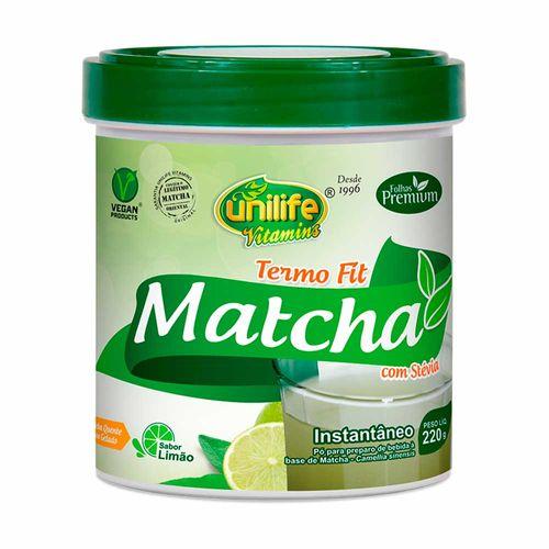 Matchá Instantâneo Limão - Unilife - 220g