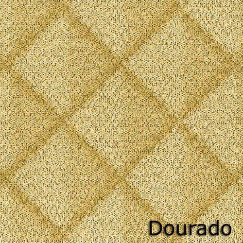 Matelassê Ultrassônico 50 X 70cm - Lamê 5071 Dourado