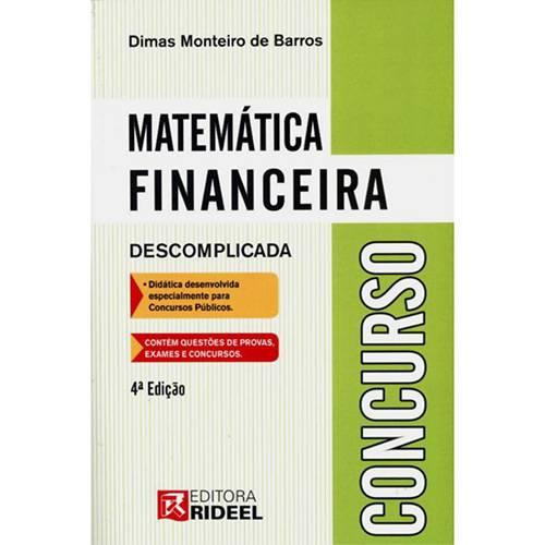 Matemática Financeira: Descomplicada