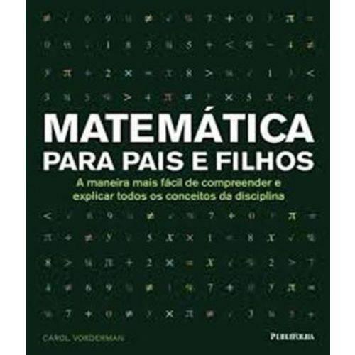 Matematica para Pais e Filhos - 02 Ed