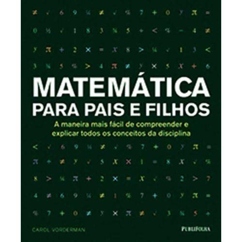 Matematica para Pais e Filhos - 2º Ed