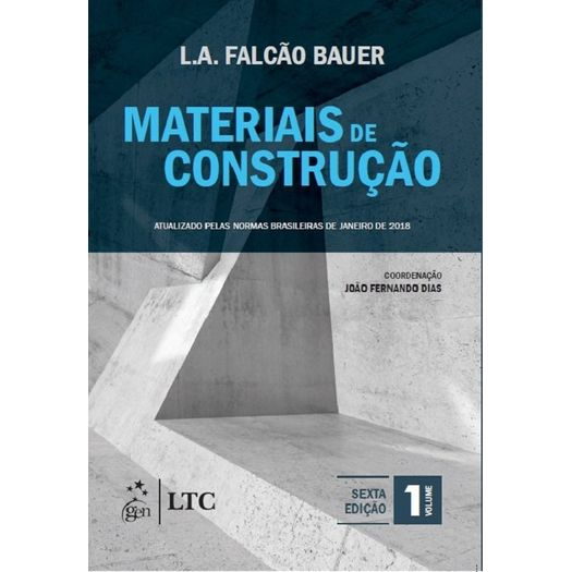 Materiais de Construcao - Vol 1 - Ltc