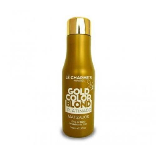 Matizador Gold Color Blond Platinado 300ml - Intensy Color