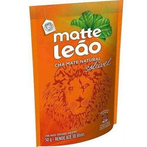 Matte Leão - Chá Mate Natural Solúvel (50g) Rende Até 10 Litros