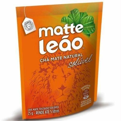 Matte Leão - Chá Mate Natural Solúvel (25g) Rende Até 5 Litros