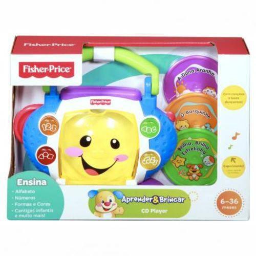 Mattel P5314 - CD Player Aprender e Brincar - Fisher-Price