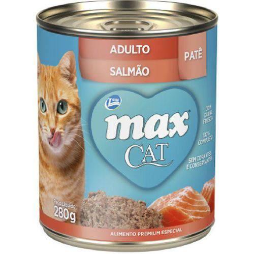 Max Cat Patê -Sabor Salmão - 280g