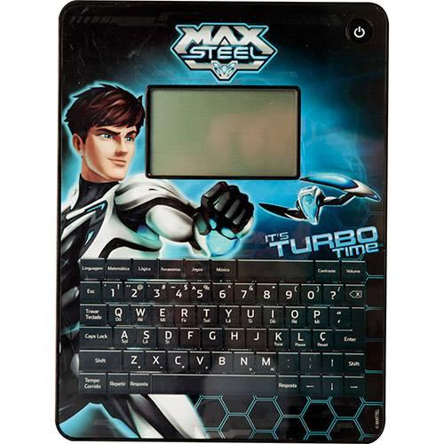 Max Tablet do Max Steel 40 Atividades Candide Preto
