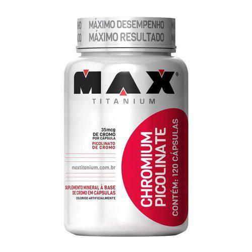 Max Titanium Chromiun Picolinate 120 Caps