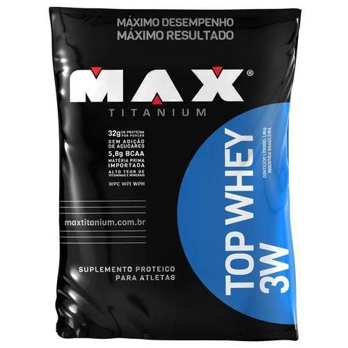 Max Titanium Top Whey 3w 1800kg Baunilha