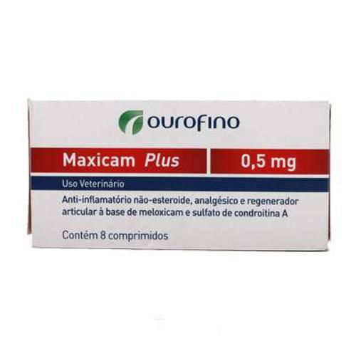 Maxicam Plus Ourofino - 0,5mg