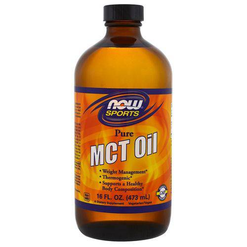 Mct Oil Pure Now Foods 473ml