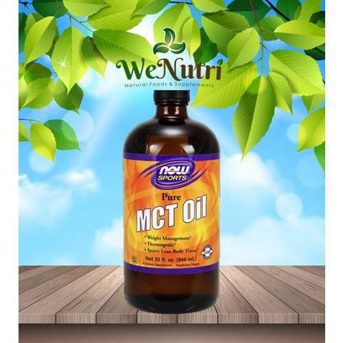 Mct Oil 100% Pure 946ml Now Foods
