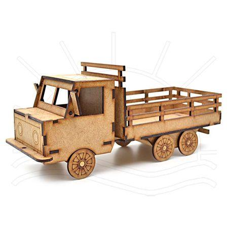 MDF - Caminhão com Carroceria 28x10x10