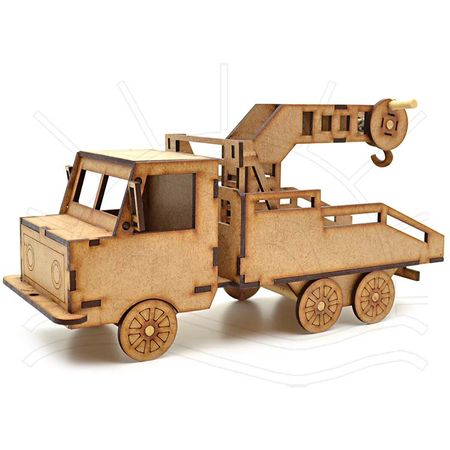 MDF - Caminhão Guincho 28x10x15