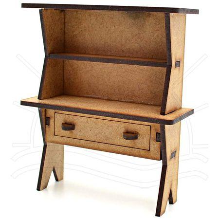 MDF Miniatura - Escrivaninha 13x10x4