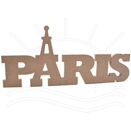 MDF Palavra - Paris 62x15x2