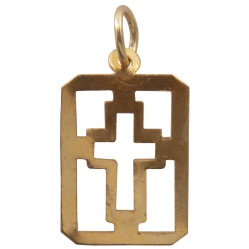 Medalha Cruz Vazada   SJO Artigos Religiosos