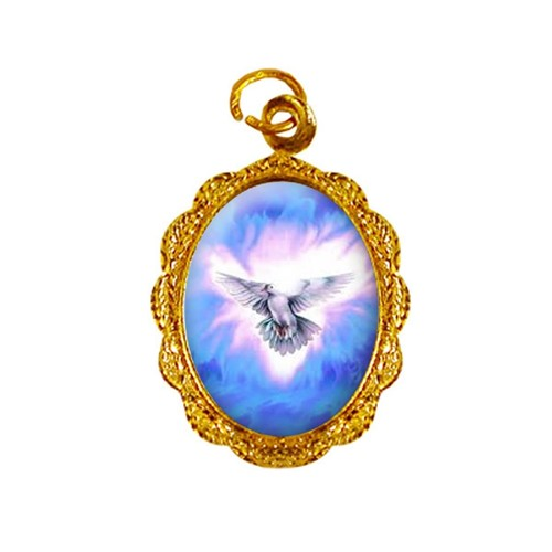 Medalha de Alumínio - Divino Espírito Santo | SJO Artigos Religiosos