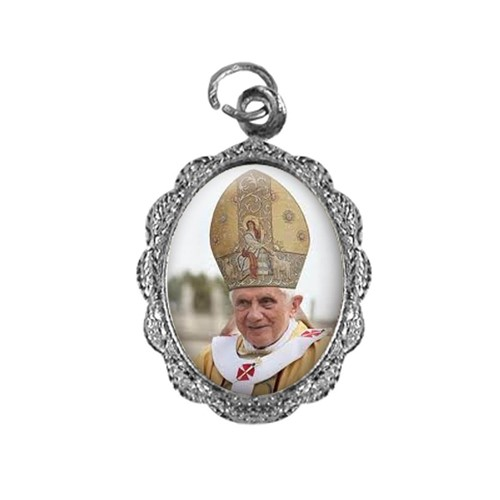 Medalha de Alumínio - Papa Bento XVI - Mod. 2   SJO Artigos Religiosos