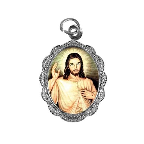 Medalha de Alumínio - Senhor do Bonfim | SJO Artigos Religiosos