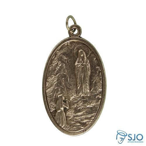 Medalha de Nossa Senhora de Lourdes Oval | SJO Artigos Religiosos