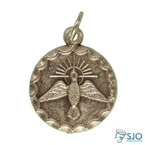 Medalha Divino Espirito Santo Redonda | SJO Artigos Religiosos