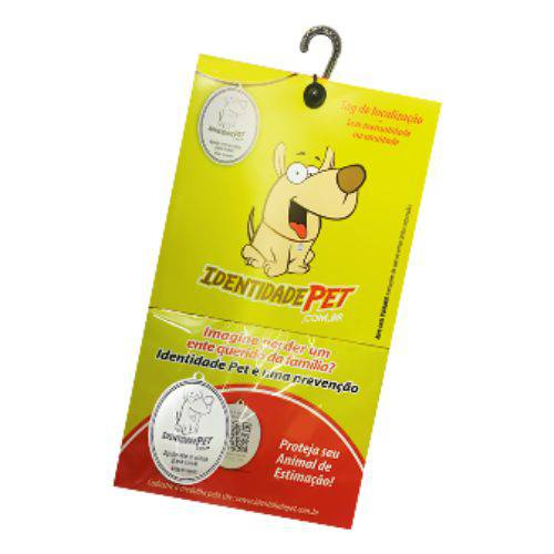 Medalha Identidade Pet