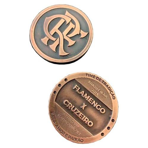 Medalha Moeda Flamengo X Cruzeiro UN