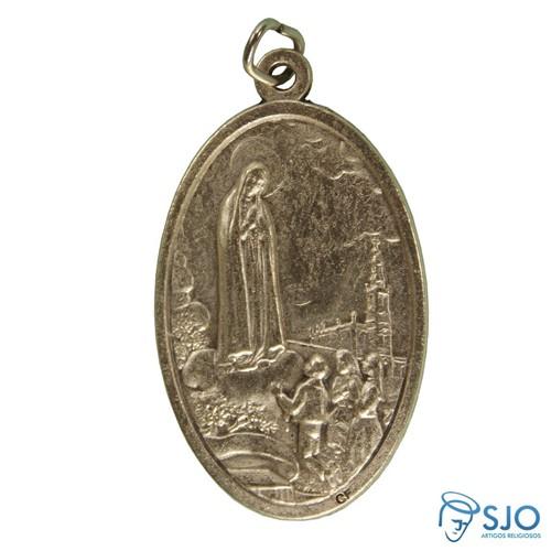 Medalha Oval de Nossa Senhora de Fátima | SJO Artigos Religiosos