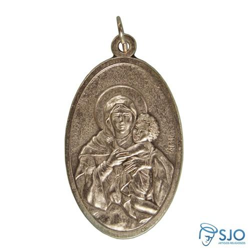 Medalha Oval Mãe Rainha - Schoenstatt | SJO Artigos Religiosos