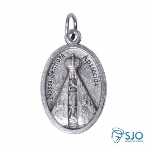 Medalha Oval Nossa Senhora Aparecida | SJO Artigos Religiosos