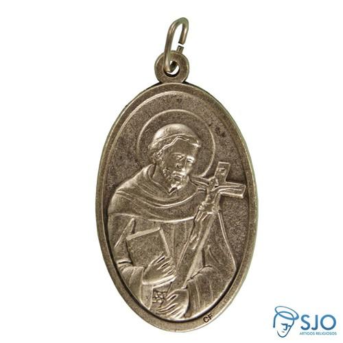 Medalha Oval São Francisco | SJO Artigos Religiosos