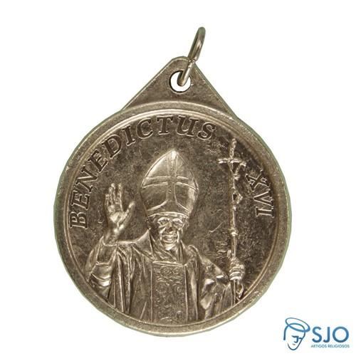 Medalha Redonda do Papa Bento XVI | SJO Artigos Religiosos