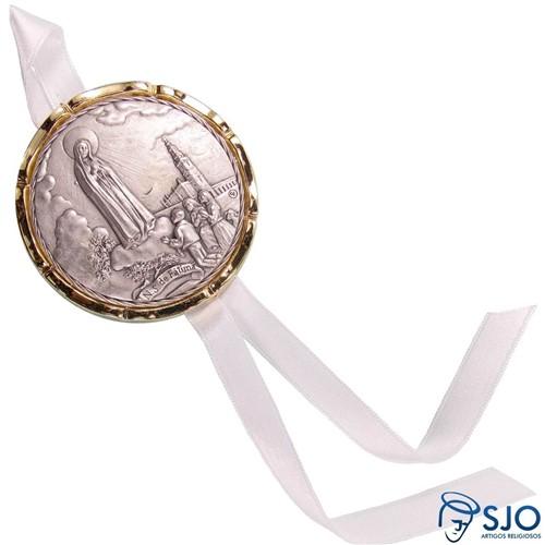 Medalhão de Berço Nossa Senhora de Fátima | SJO Artigos Religiosos