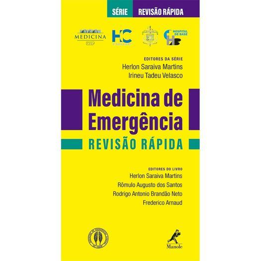 Medicina de Emergencia - Revisao Rapida - Manole