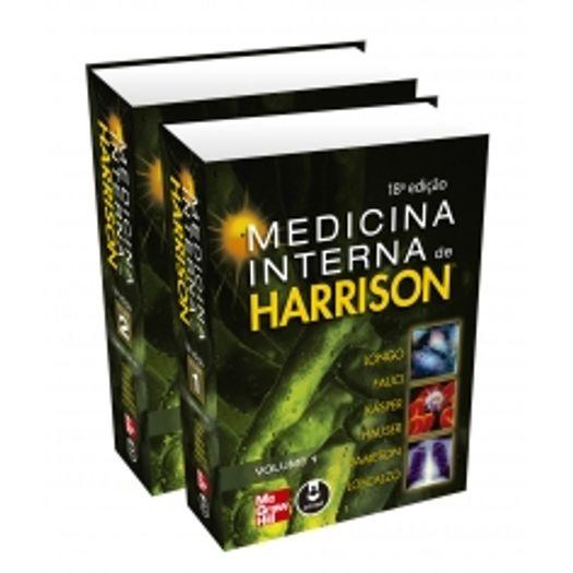Medicina Interna Harrison - 2 Volumes - Mcgraw Hill - 18 Ed