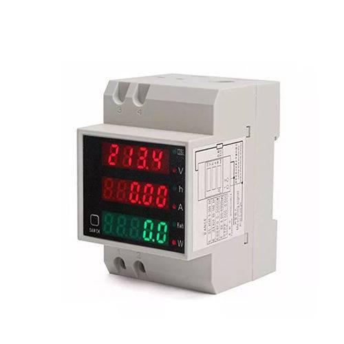 Medidor Multifunção 6x1 Din