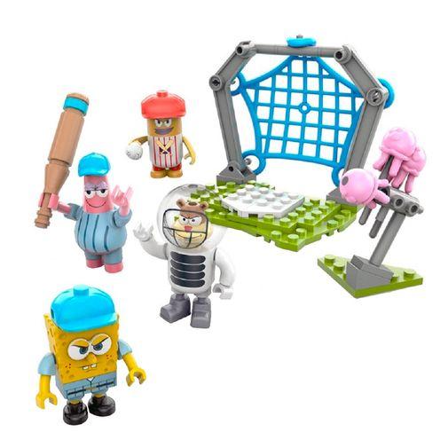 Mega Bloks Bob Esponja - Basebol de Medusas - Mattel