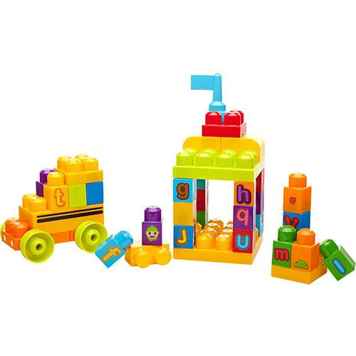 Mega Bloks - First Bloks - Ônibus Abc - Fisher Price
