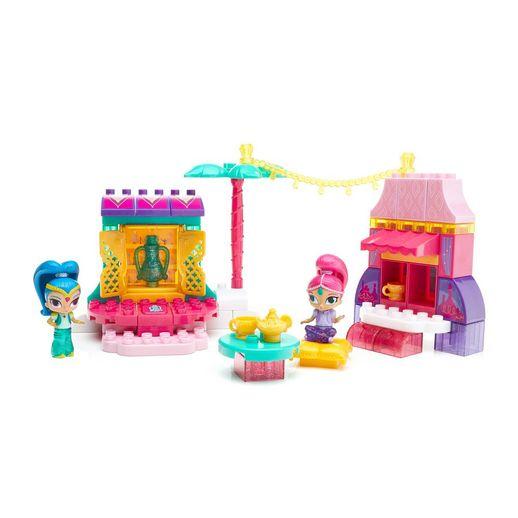 Mega Bloks Shimmer e Shine Conjunto Mercado - Mattel