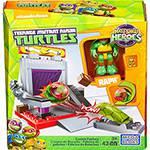Mega Bloks Tartarugas Ninja JR Conjunto Ruas Fábrica de Bolachas- Mattel