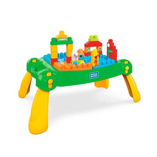 Mega Bloks Vila Sésamo Mesa de Atividades - Mattel