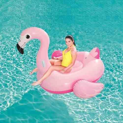 Mega Boia Gigante Flamingo Piscina Praia Inflável Mor 1979